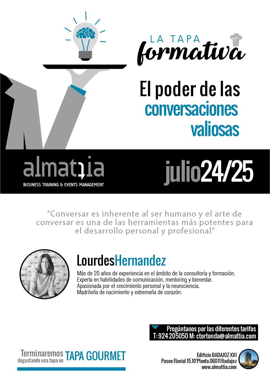 EL PODER DE LAS CONVERSACIONES VALIOSAS