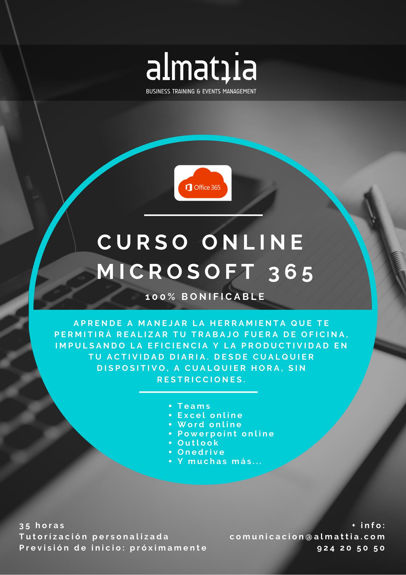 CURSO ONLINE DE MICROSOFT 365