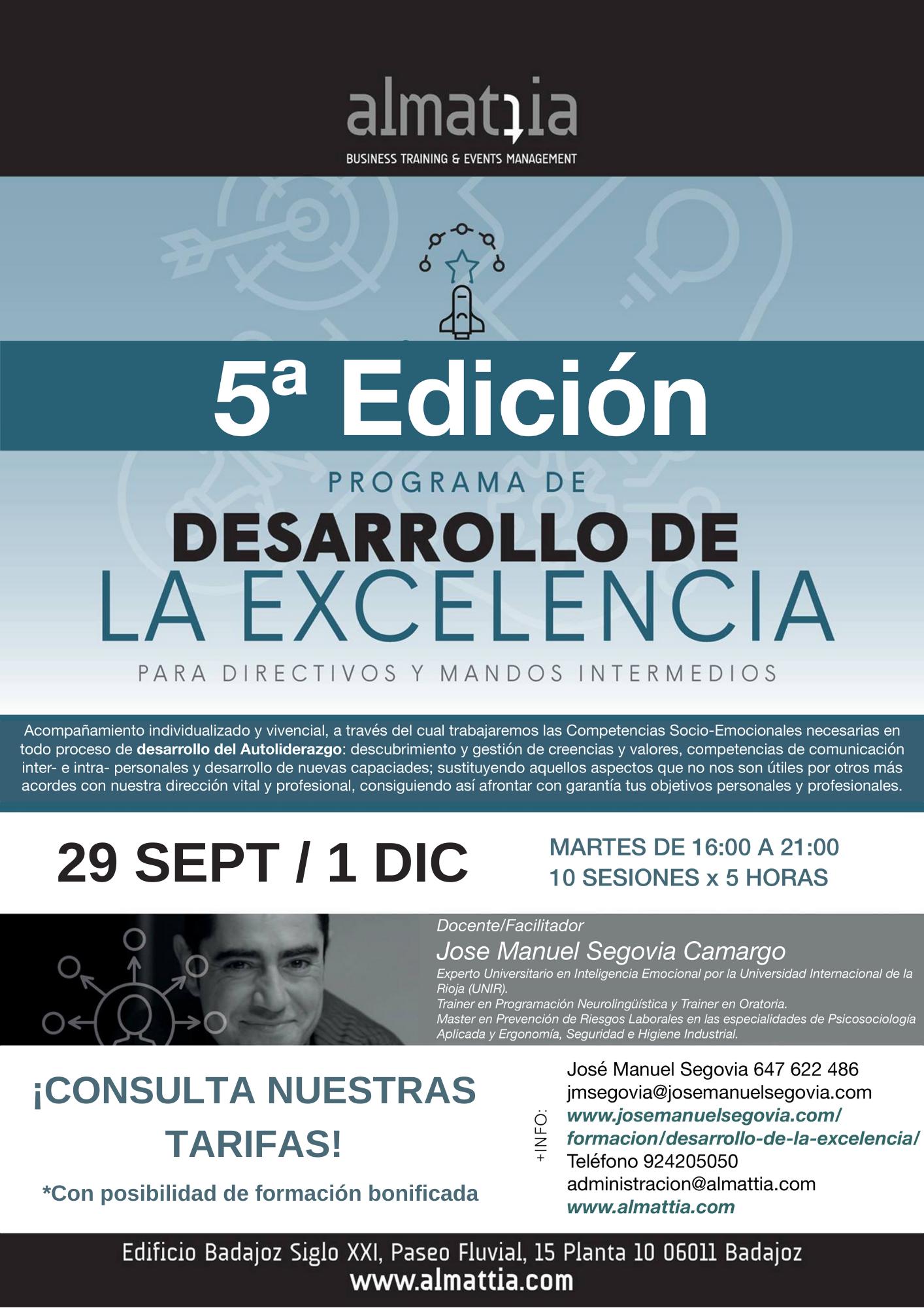 5ª EDICIÓN DE EXCELENCIA